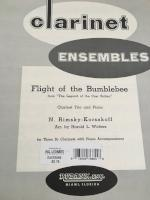 Flight of the Bumblebee - Clarinet Trio and Piano - Rimsky-Korsakoff/Arranged by Walters
