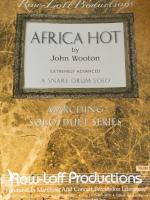 Africa Hot - Extremely Advanced - Snare Drum Solo - Wooton - H & H Music