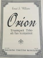 Orion - Trumpet Trio and Piano - Williams