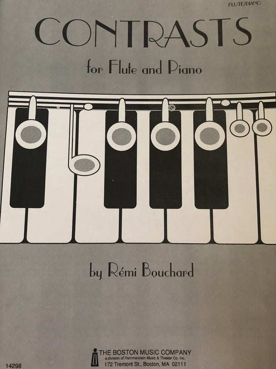 Contrasts for Flute and Piano - Bouchard