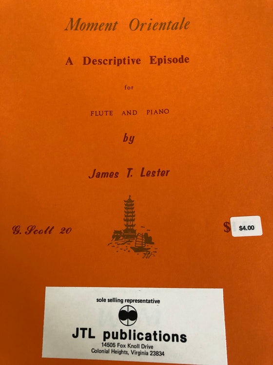 A Descriptive Episode for Flute and Piano - Lester