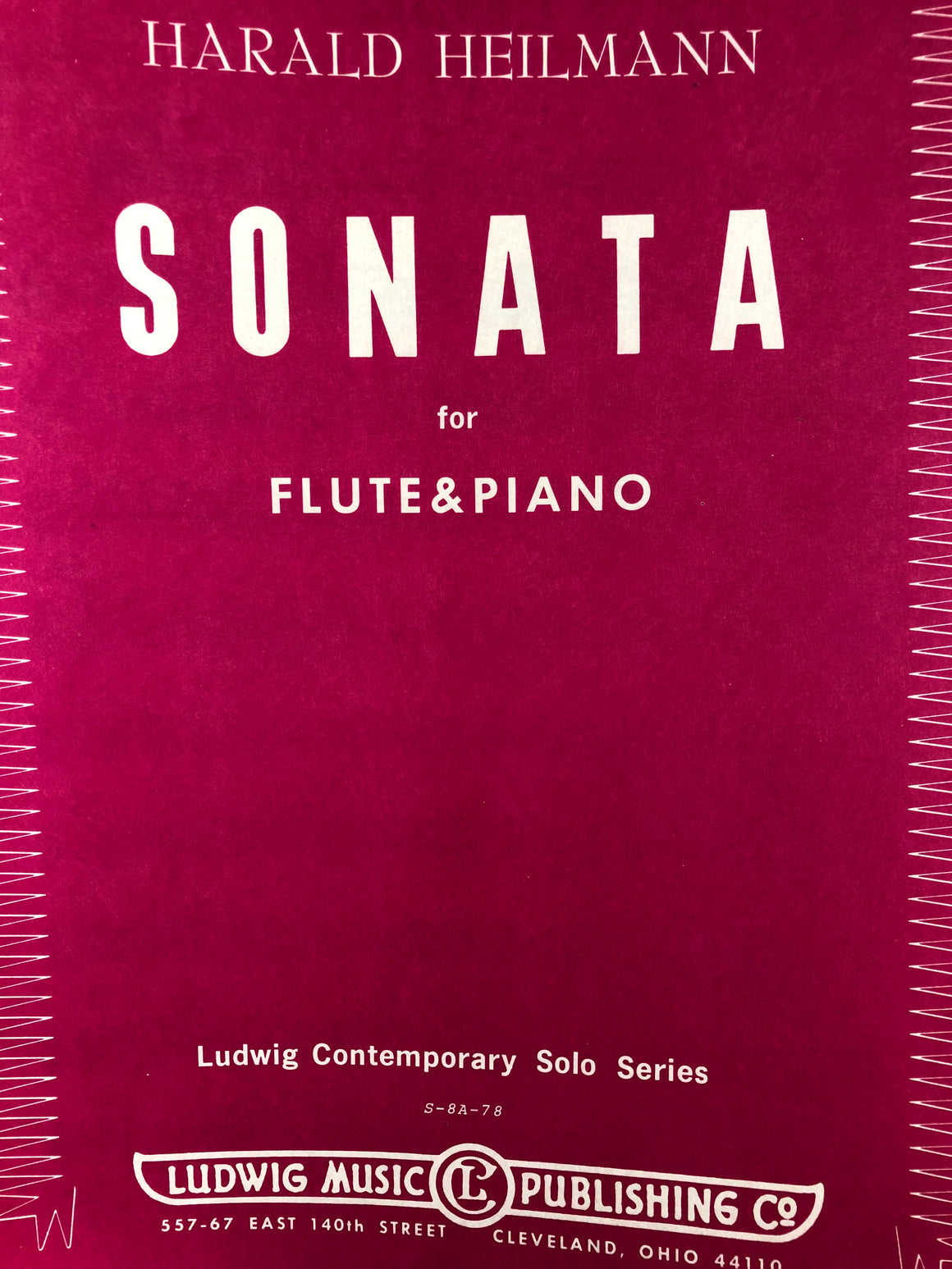 Sonata for Flute and Piano - Heilmann