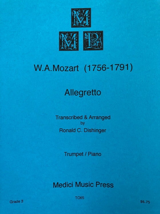 Allegretto - Mozart/Dishinger