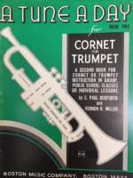 A Tune A Day for Cornet or Trumpet - Book Two - Herfurth/Miller - H & H Music