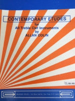 Contemporary Etudes for all Treble Clef Instruments - Allan Colin - H & H Music