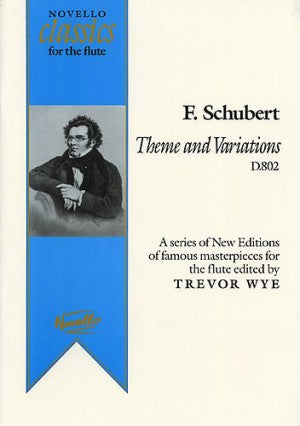 Theme and Variations, D. 802 - Schubert/Wye