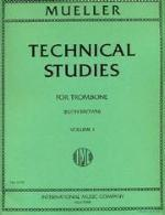 Technical Studies for Trombone - Volume I - Mueller/Brown - H & H Music