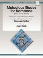 Melodious Etudes for Trombone (Book 2: Nos. 61-90) - Arranged by Rochut/Edited by Raph - H & H Music