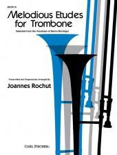 Melodious Etudes for Trombone - Book III - Arranged by Rochut - H & H Music