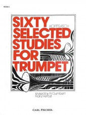 Sixty Selected Studies for Trumpet - Book II - Kopprasch/Revised by Gumbert and Herbst - H & H Music