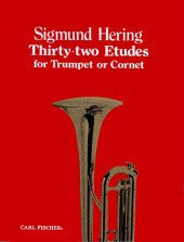 Thirty-Two Etudes for Trumpet or Cornet - Hering