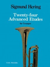 Twenty-Four Advanced Etudes for Trumpet - Hering