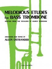 Melodious Etudes for Bass Trombone - Selected from the Vocalises or Marco Bordogni -  Ostrander - H & H Music