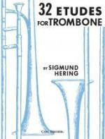 32 Etudes for Trombone - Hering - H & H Music