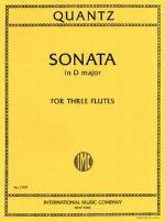 Sonata in D Major for Three Flutes - Quantz