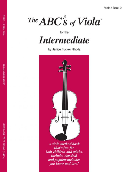 The ABC's of Viola for the Intermediate - Book 2 - Rhoda