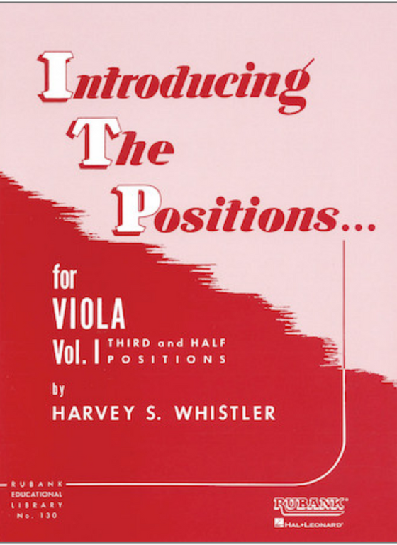 Introducing the Positions... for Viola - Whistler