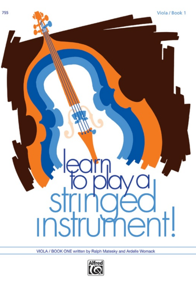 Learn to Play a Stringed Instrument! Viola Book 1 - Matesky/Womack