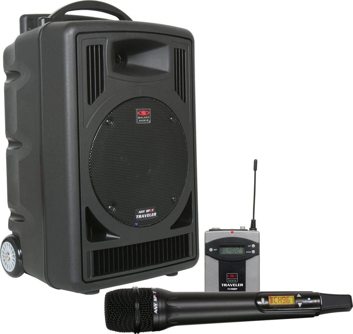 Galaxy Audio Traveler Portable PA System - TV8