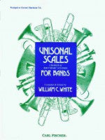 Universal Scales, Chords & Rhythmic Studies for Bands - Trumpet or Cornet - White