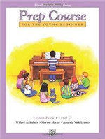 Alfred's Basic Piano Library - Prep Course Level D