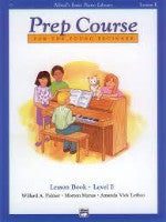 Alfred's Basic Piano Library - Prep Course Level E - H & H Music