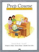 Alfred's Basic Piano Library - Prep Course Level F - H & H Music