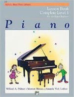 Alfred's Basis Piano Library - Complete Level 1- For the Later Beginner - H & H Music
