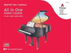Bastien New Taditions - All In One Piano Course - Bastien
