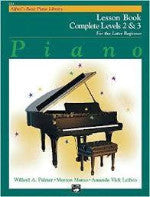 Alfred's Basic Piano Library - Complete Levels 2 & 3 - For the Later Beginner
