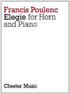 Elegie for Horn and Piano - Poulenc