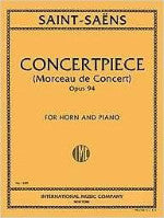 Concertpiece Opus 94 (Morceau de Concert) - For Horn and Piano - Saint-Saens