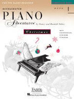 Faber - Accelerated Piano Adventures - For The Older Beginner - Book 1 - H & H Music