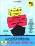 Maiden Voyage - Fourteen Easy-to-Play Jazz Tunes - Volume 54 - With CD - Jamey Aebersold - H & H Music