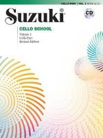 Suzuki Cello School - Volumes 1-8 - Book and CD