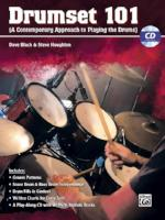 DrumSet 101 - A Contemporary Approach to Playing the Drums - With CD - Black/Houghton - H & H Music