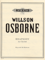 Rhapsody for Clarinet - Osborne