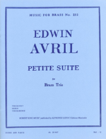 Petite Suite for Brass Trio - Avril
