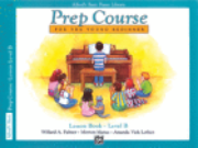 Alfred's Basic Piano Library - Prep Course Level B - H & H Music