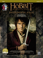 The Hobbit: An Unexpected Journey - Instrumental Solos - Level 2-3 - With CD