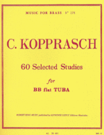 60 Selected Studies for BB-flat Tuba - C. Kopprasch - H & H Music