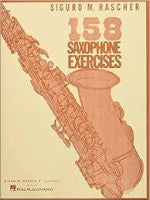 158 Saxophone Exercises - Rascher - H & H Music