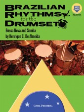 Brazilian Rhythms for the DrumSet - 2 CDs - Almeida - H & H Music