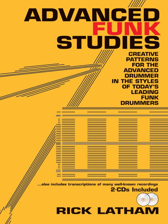 Advanced Funk Studies - With 2 CDs - Latham - H & H Music