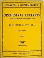 Orchestral Excerpts from the Symphonic Repertoire - For Trombone and Tuba - Volume I - Brown