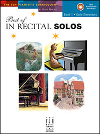 Best of In Recital Solos Book 1 - H & H Music
