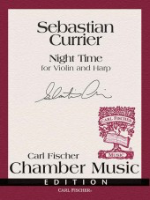 Night Time for Violin and Harp - Carl Fischer Chamber Music Edition - Currier