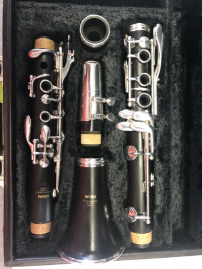 Used Yamaha Professional Clarinet - YCL-72CX