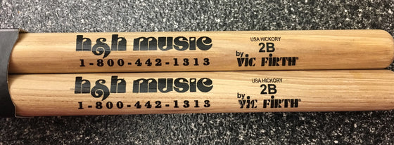 H & H Snare Sticks - Nylon Tip
