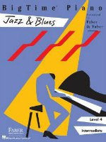 Big Time Piano Jazz & Blues - Faber & Faber - H & H Music